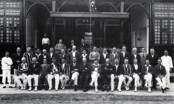 Shanghai CC and Kowloon CC at the Kowloon Cricket Club, Hong Kong, 1927